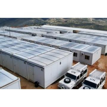 Light Steel Folding Container House With Steel Frame and Sandwich Panels Original import