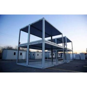 Custom Combined Folding Container House Kits With Steel Security Door Original import