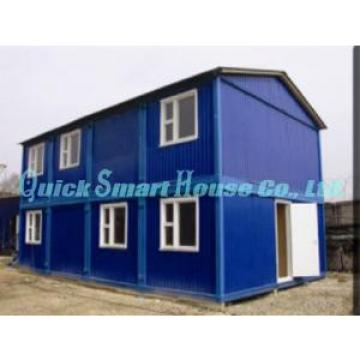 Two Storey Folding Container House , Affordable Modern Modular Homes Original import