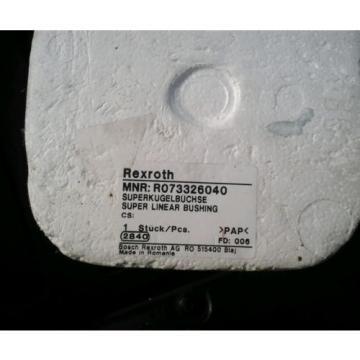 Rexroth R073326040 Rexroth Super Linear Bushing