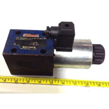REXROTH Gambia  Singapore Malta  Canada Egypt  HYDRAULIC United States of America  DIRECTIONAL Hongkong  VALVE R900589933 / 4WE10D33/CG24N9K4 99108