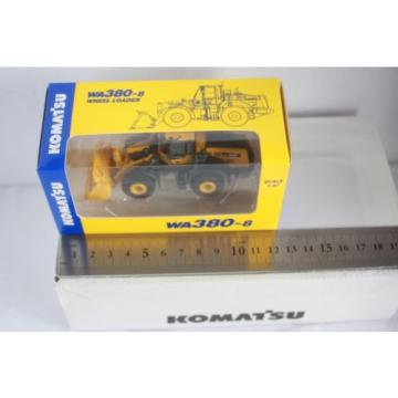 NEW Honduras  1/87 Komatsu Official WA380-8 Wheel Loader diecast model rare item 165