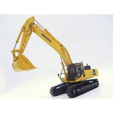 New! Liechtenstein Komatsu excavators PC450LC crushed stone specification 1/50 diecast Japan