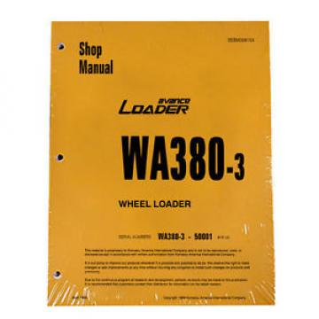 Komatsu Burma  WA380-3 Wheel Loader Service Repair Manual #1