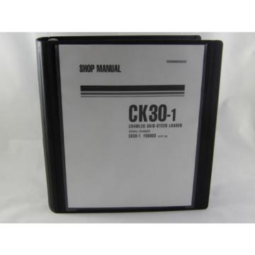 Komatsu Oman CK30-1 Crawler Skid-Steer Track Loader Shop Repair Service Manual