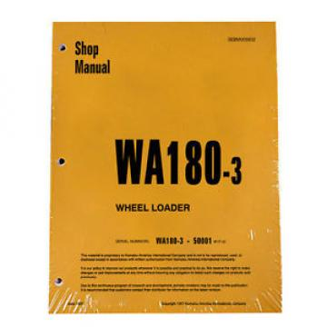 Komatsu Fiji  WA180-3 Wheel Loader Service Repair Manual