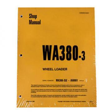 Komatsu Rep. WA380-3 Wheel Loader Service Repair Manual #2