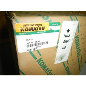 New Swaziland  Genuine Komatsu 1252017H1 Air FIlter Element   *NOS