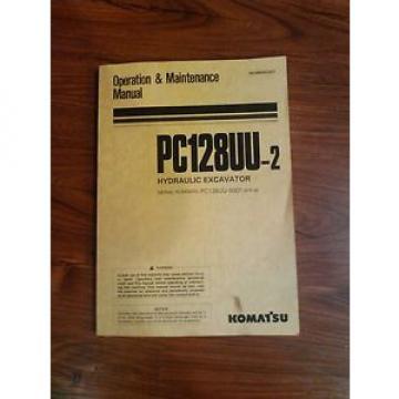 Komatsu Suriname PC 128uu-2 operators manual