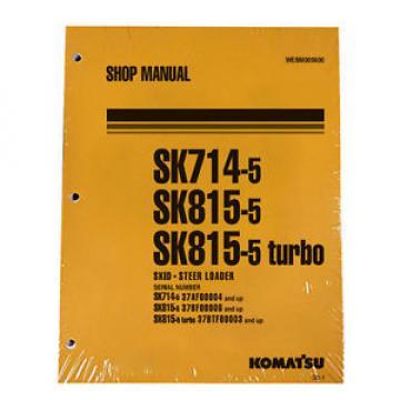 Komatsu Liberia Service SK714-5, SK815-5, SK815-5 Turbo Manual
