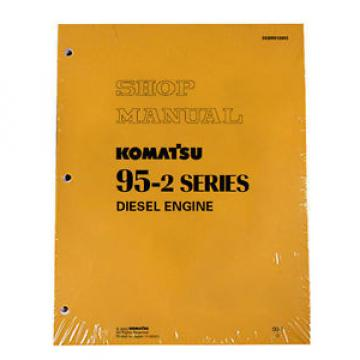 Komatsu Belarus  Service Diesel Engines 95-2 Series Shop Manual
