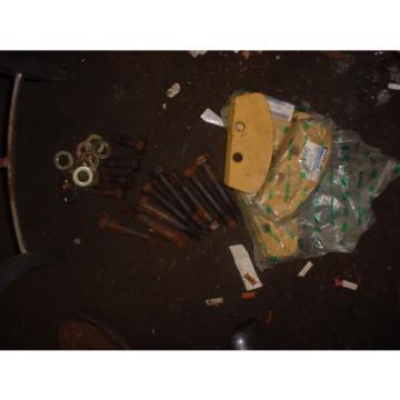 LOT Haiti OF 4 KOMATSU DOZER Bulldozer 17A-30-17142 WEAR PLATE D155A PARTS LOT SHEAR