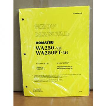 Komatsu Gambia  WA250-5H, WA250PT-5H Wheel Loader Shop Service Repair Manual