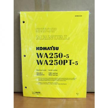 Komatsu Cuinea  WA250-5, WA250PT-5 Wheel Loader Shop Service Repair Manual
