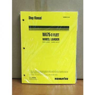 Komatsu Rep.  WA75-3 Fleet Wheel Loader Shop Service Repair Manual