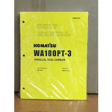 Komatsu Belarus WA180PT-3 Parallel Tool Carrier Wheel Loader Shop Service Repair Manual
