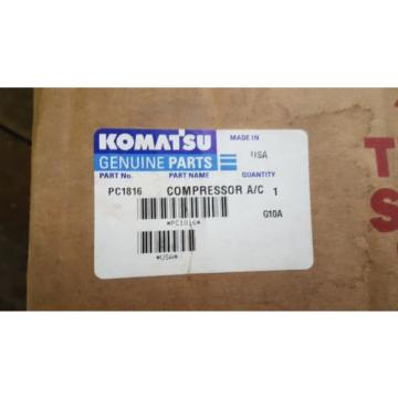 New Iran  Komatsu Compressor A/C PC1816 Made in USA