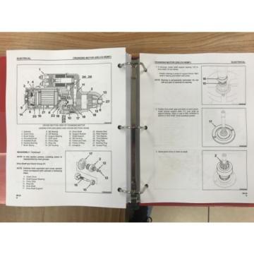Komatsu Uruguay TD7H, TD8H, TD9H Crawler Tractor Service Shop Repair Manual Priority
