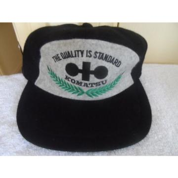 VINTAGE Slovenia KOMATSU CAP- 1980/90'S ERA