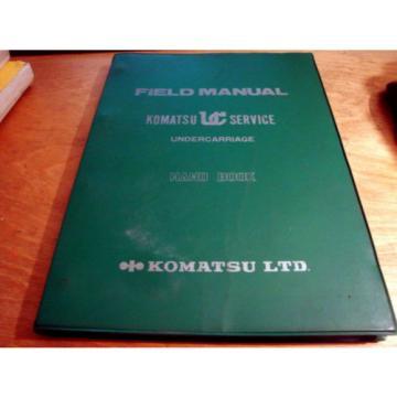 Komatsu Liechtenstein KUC Undercarriage Field Manual Hand Book Manual