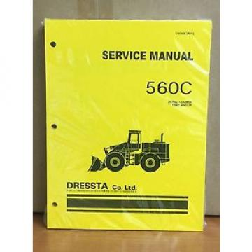 Komatsu Burma  Dressta 560C Wheel Loader Shop Service Repair Manual