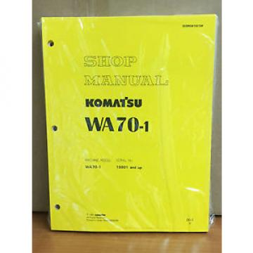 Komatsu Liechtenstein  WA70-1 Wheel Loader Shop Service Repair Manual