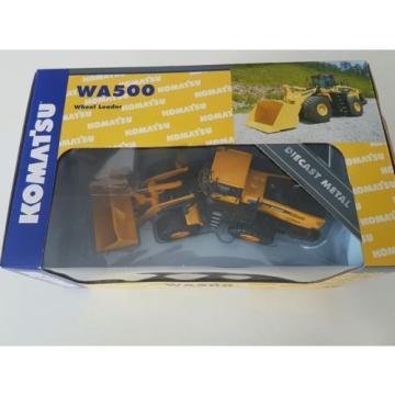 Komatsu Brazil wa500 wheel loader die cast model