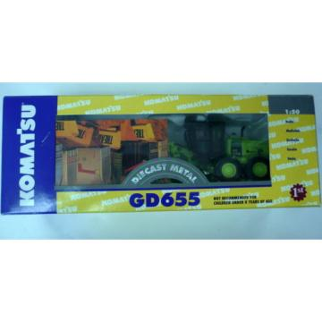 KOMATSU Moldova, Republic of  GD655 MOTORGRADER, 1:50TH SCALE MIB, NEVER OPENED