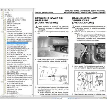 CUMMINS Burma  QSK23 / Komatsu 170-3 ENGINE  Shop Rebuild Service Manual WORKSHOP