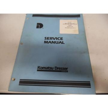 Komatsu Liechtenstein  2400-2500 Series A and B International Wheel Tractor Service Manual