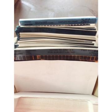 Komatsu Rep. microfiche cards