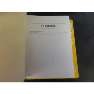 Komatsu Guinea  PC228US-3  PC228USLC-3 Hydraulic Excavator Shop Manual
