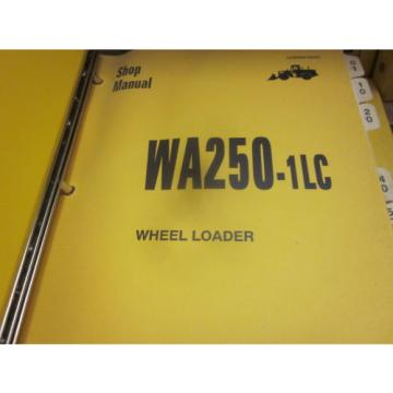 Komatsu Barbuda  WA250-1LC Wheel Loader Repair Shop Manual