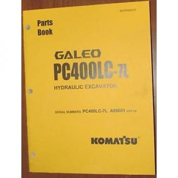 PARTS Niger  MANUAL FOR PC400LC-7L SERIAL A86000 AND UP KOMATSU CRAWLER EXCAVATOR