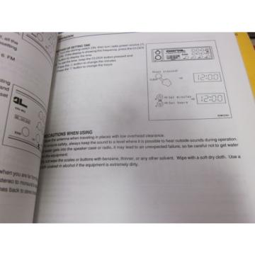 Komatsu Liberia WA250-3PT Tool Carrier Operation & Maintenance Manual 2004