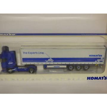Universal Costa Rica  Hobbies Scania R Komatsu - The Experts Line Curtainsider REF 5602