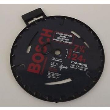 BRAND NEW Bosch Framing Saw Blade 5/8 Arbor 7 1/4' 24 Tooth Carbide