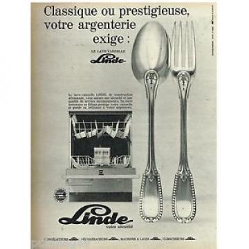 Publicité Nicaragua Advertising 1970 Le Lave Vaisselle Linde