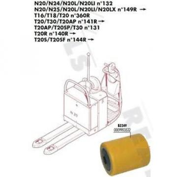 GALET Ireland 85 105 110 20 mm TRANSPALETTE FENWICK LINDE N20L N20LI N°132 PIECES