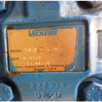 HYDRAULIC France UNIT HP25 WITH SIEMENS MOTOR PE 21 PLUS AND VICKERS PUMP 25V21A