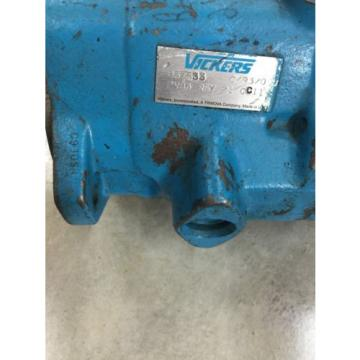 Origin Solomon Is  VICKERS 857533 HYDRAULIC PISTON PUMP PVB6 RSY 21 CC11