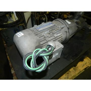 2 Uruguay  HP AC Motor w/ Continental Hydraulic Pump and Tank, PVR6-6B0B-RF-0-1-F, Used