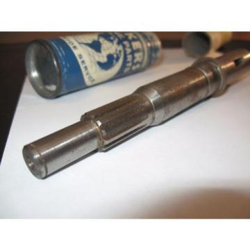 Vickers Barbados Hydraulic Pump Shaft #1244411, NOS