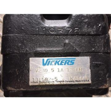 Vickers Reunion  Vane Pump V230 5 1A 12 LH