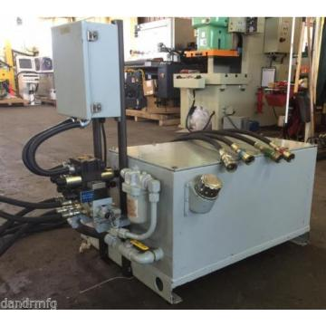 CPI AUTOMATION HYDRAULIC POWER PACK 3,000 PSI 30 GAL 5.0 GPM@1750 RPM 575 60 AMP