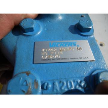 VICKERS Belarus VTM42 60 55 10 NO R114 Origin OLD STOCK Hydraulic Pump