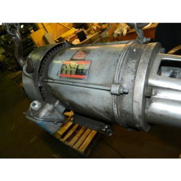 10 Uruguay HP AC Motor w/ Vickers Hydraulic Pump, VQ10-A2R-SE15-20-C21-12, Used