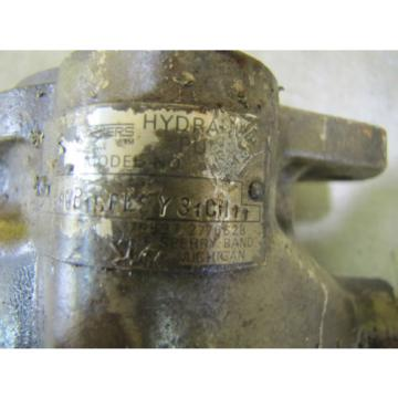 REBUILT Russia  VICKERS F3PVP15FLSY31CM11 HYDRAULIC PUMP 7/8#034; SHAFT DIA 1-1/4#034;NPT IN/OUT