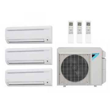 43,000 Btu 177 Seer Daikin Ductless Mini Split Heat Pump System - 7K-18K-18K