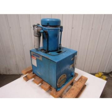 Vickers Ethiopia  TK10VP-V45F--M SystemPak Hydraulic Power Unit W/10 Gallon Tank 10GPM